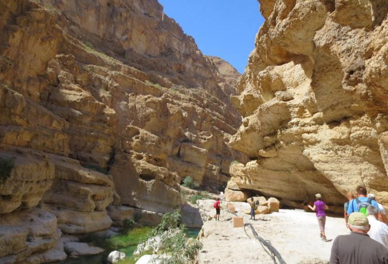 Wanderung im Wadi Shams