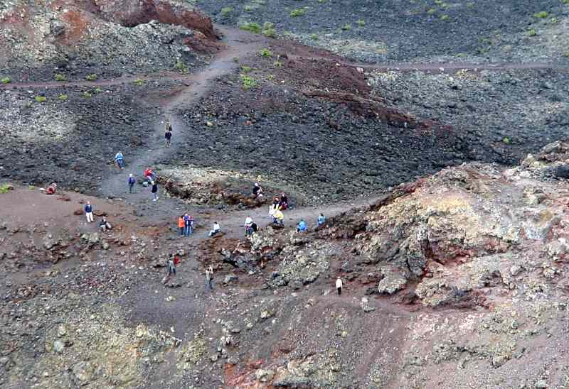 Wanderung im vulkanischen Süden