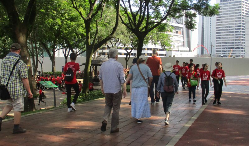 Landausflüge in Kuala Lumpur auf eigene Faust zu Fuß