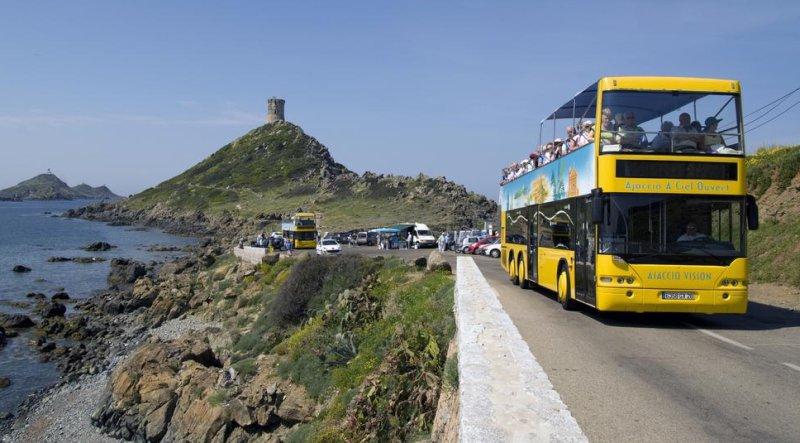 Landausflüge in Ajaccio mit Bussen